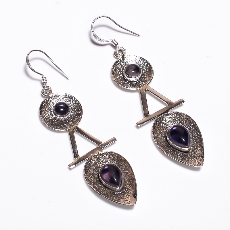 925 STERLING SILVER BEAUTIFUL EARRINGS
