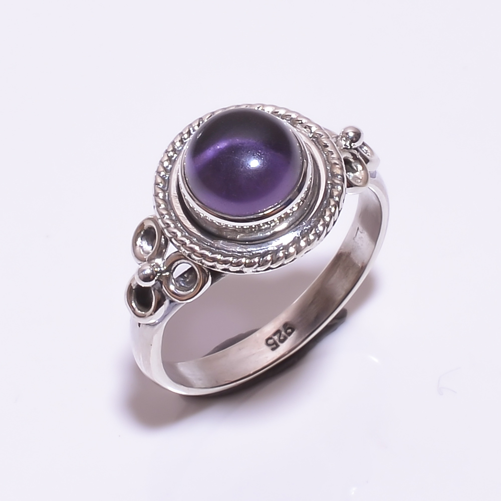 925 STERLING SILVER AMETHYST BEAUTIFUL RING